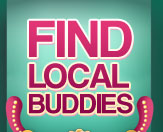 find local buddies