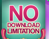 NO download limitation
